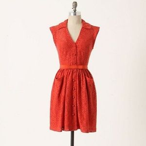 Frock by Tracy Reese Marybeth Belted Lace Dress